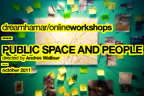 Public space and people online workshop call for participants