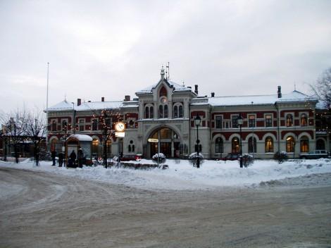 Ecosistema Urbano Hamar Train Station